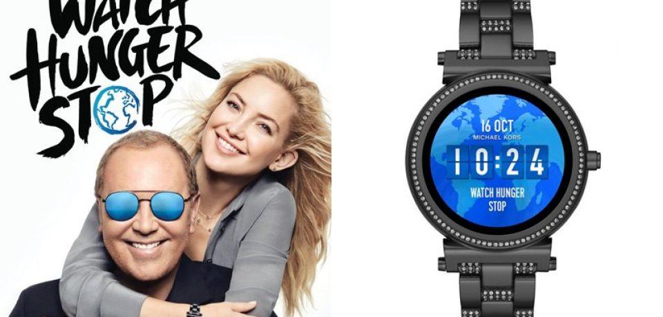 Кейт Хадсон и Майкл Корс поддерживают благотворительный проект Michael Kors Watch Hunger Stop