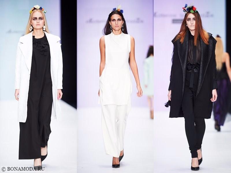 Коллекция Ekaterine Buzaladze весна-лето 2018 - женственность в чёрном и белом