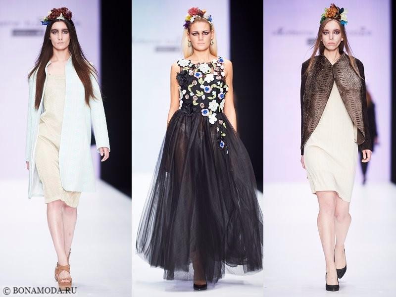 Коллекция Ekaterine Buzaladze весна-лето 2018 - женственные образы с платьями и жакетами