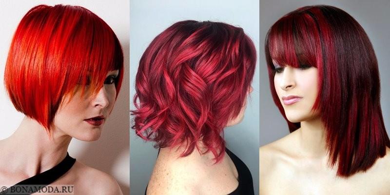 Красные волосы -