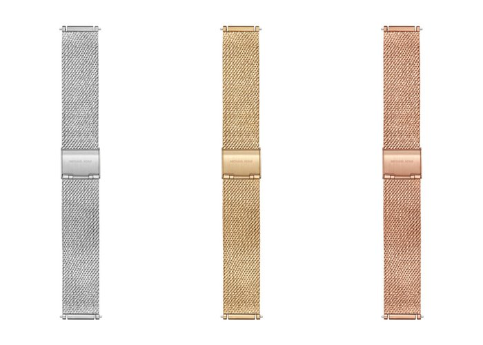 Michael Kors Sofie Smartwatch x Google Assistant - металлические съёмные ремешки