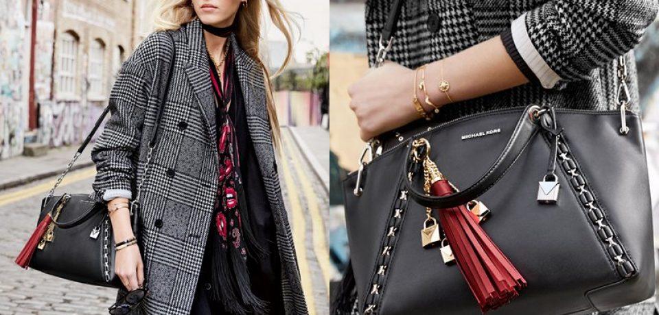 Michael Kors The Walk — новая рекламная кампания сумки Sadie Bag