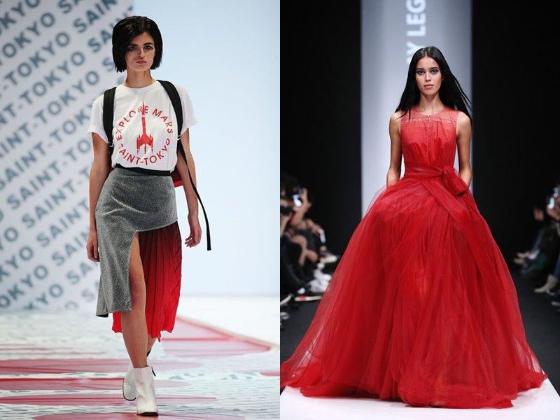 «Российские дизайнеры против СПИДа» - Saint-Tokyo и N.LEGENDA