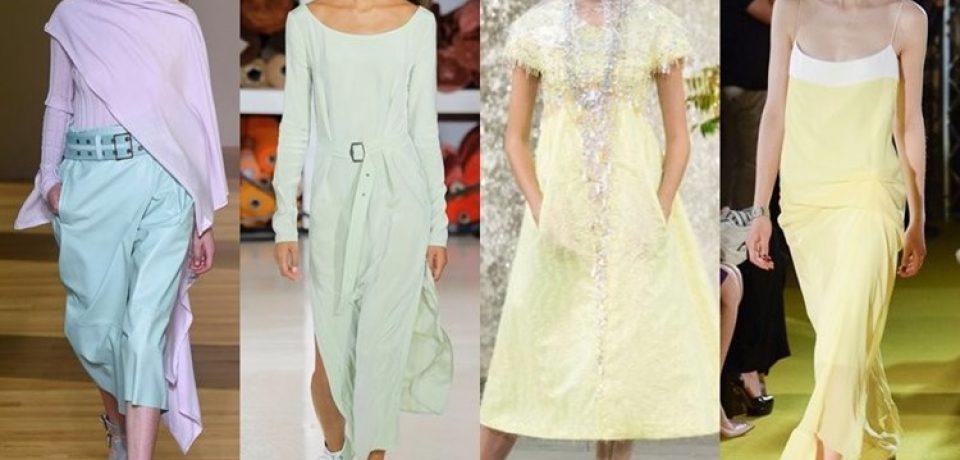 Одежда весна-лето 2018: модные тренды с подиума