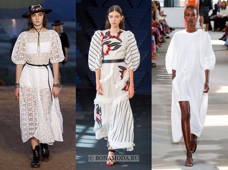 Рукава 2018 года модные тенденции фото