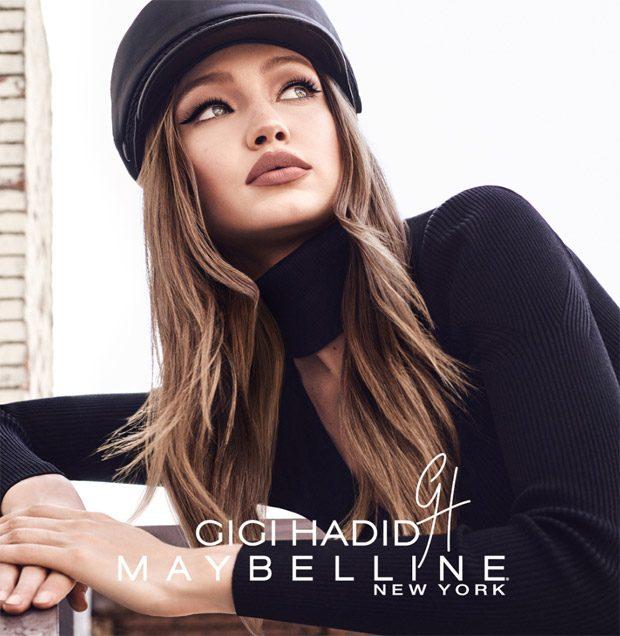 Coast to Coast - рекламная кампания Maybelline и Джиджи Хадид - макияж с косметикой East Coast