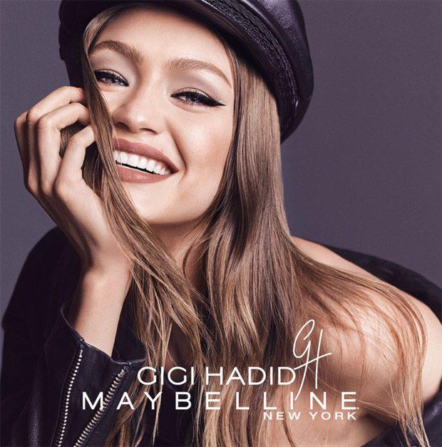 Coast to Coast - рекламная кампания Maybelline и Джиджи Хадид - макияж в оттенках East Coast