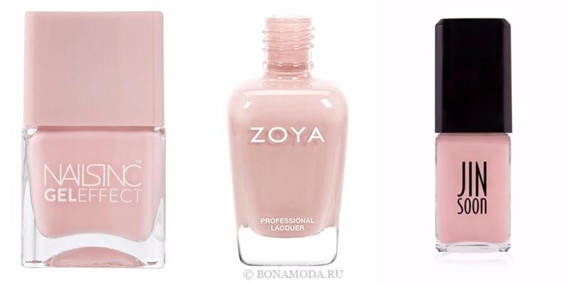Цвета лака для ногтей 2018: модные новинки - элегантный и нейтральный кремово-розовый