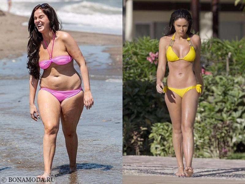 Истории похудения звёзд – фото до и после - Вики Паттисон - похудела на 25 кг