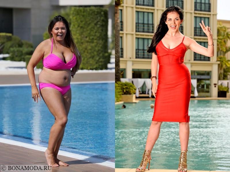 Истории похудения звёзд – фото до и после - Скарлетт Моффат - похудела на 20 кг