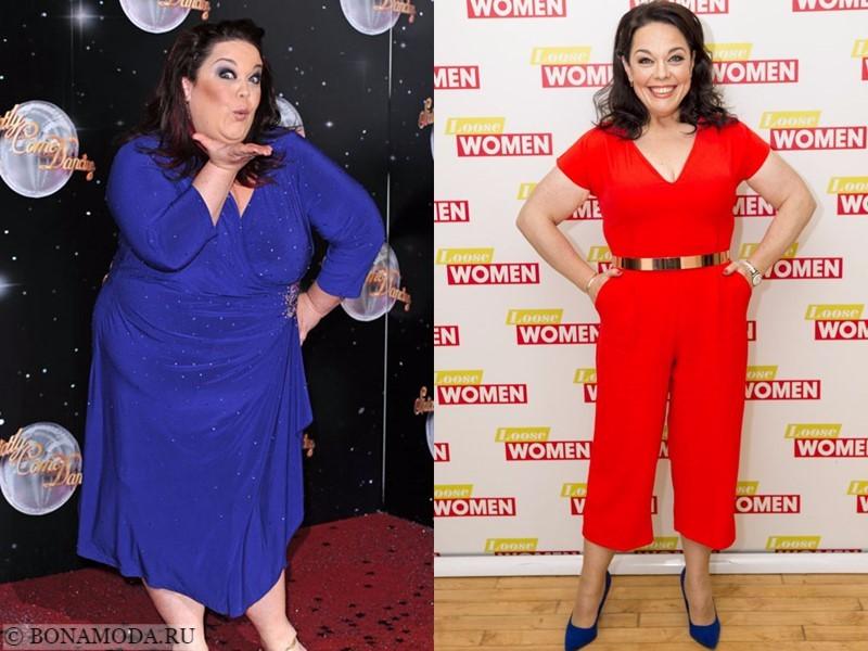 Истории похудения звёзд – фото до и после - Лиза Райли - похудела на 70 кг