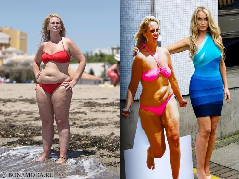 Истории похудения звёзд – фото до и после - Джози Гибсон - похудела на 40 кг