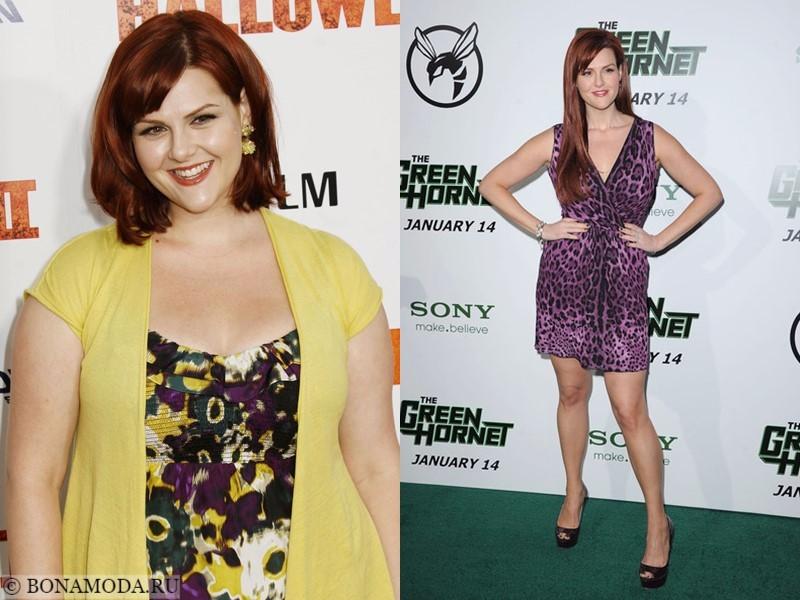 Истории похудения звёзд – фото до и после - Сара Рю - похудела на 25 кг