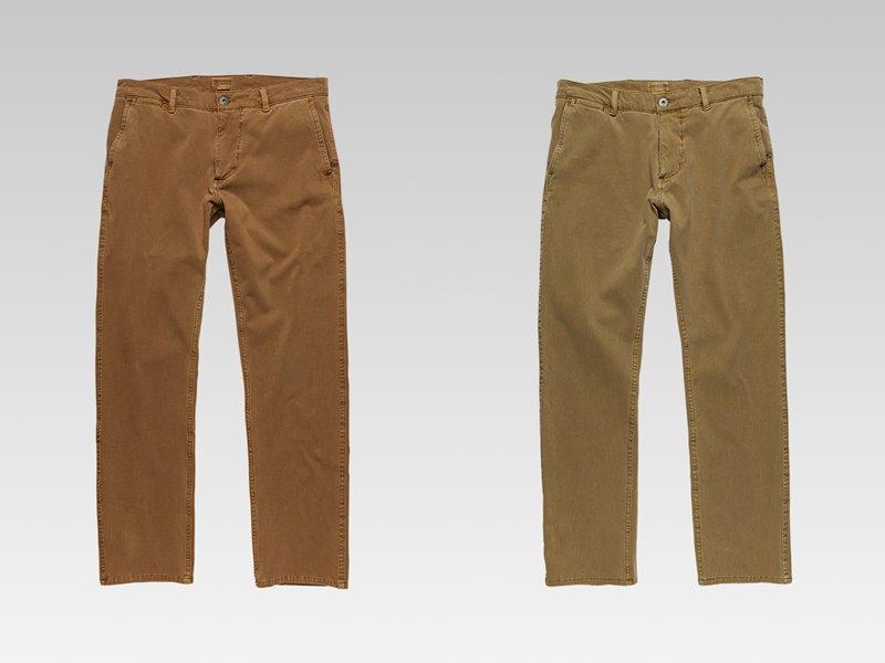 Коллекция мужской одежды Dockers осень-зима 2017-2018 - джинсы бежевые