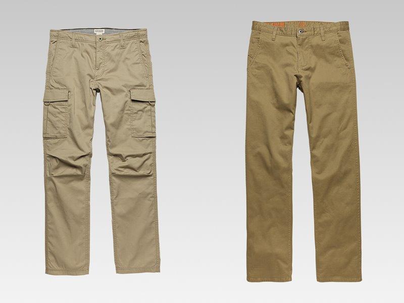 Коллекция мужской одежды Dockers осень-зима 2017-2018 - брюки хаки бежевые