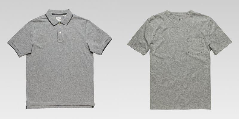 Коллекция мужской одежды Dockers осень-зима 2017-2018 - футболки - серые