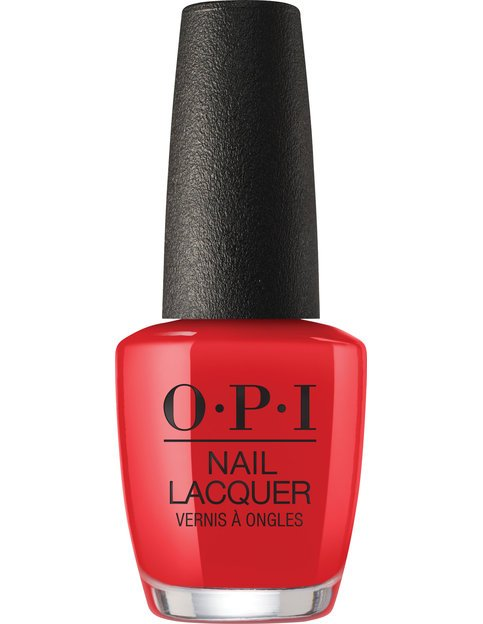 Коллекция гель-лаков для ногтей OPI Holiday 2017 - глубокий красный