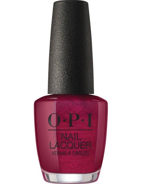 Коллекция гель-лаков для ногтей OPI Holiday 2017 - винный бордовый