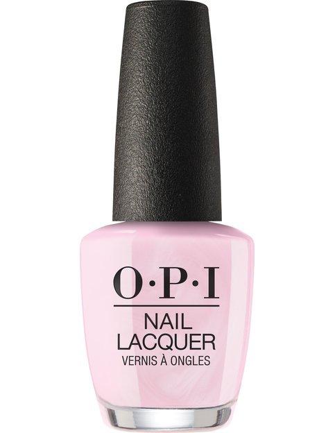 Коллекция гель-лаков для ногтей OPI Holiday 2017 - светлый пастельный розовый