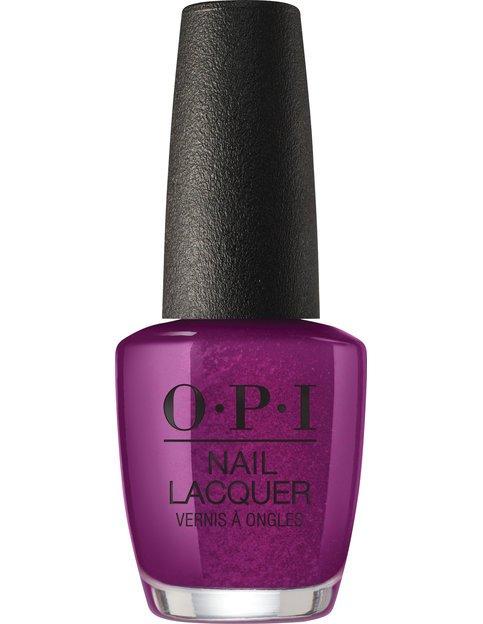 Коллекция гель-лаков для ногтей OPI Holiday 2017 - фиолетовый баклажановый оттенок