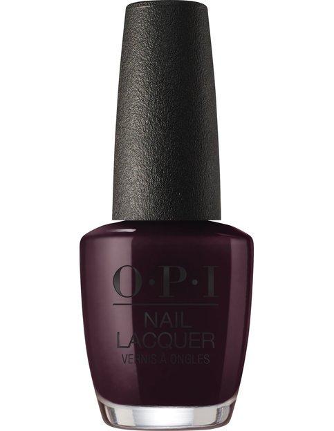 Коллекция гель-лаков для ногтей OPI Holiday 2017 - тёмный сливовый