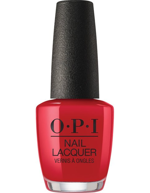 Коллекция гель-лаков для ногтей OPI Holiday 2017 - классический алый красный
