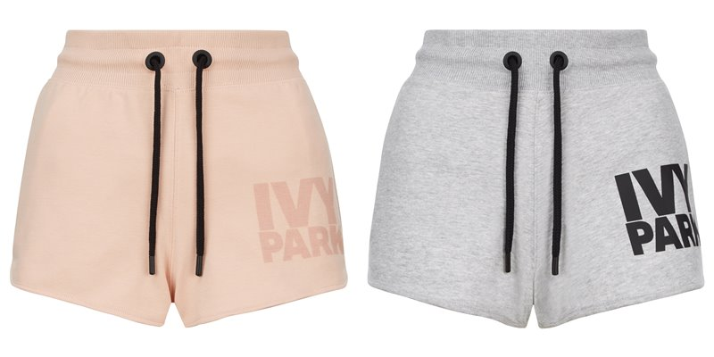 Коллекция Ivy Park осень-зима 2017-2018 - персиковые и серые шорты