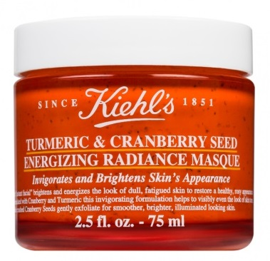 Маска для мгновенного сияния кожи Kiehl's Turmeric & cranberry seed energizing radiance masque