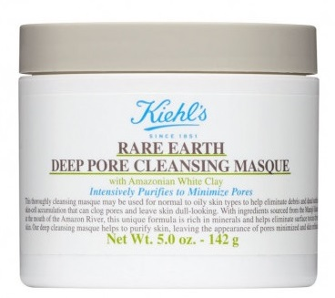 Маска для очищения пор с амазонской белой глиной Kiehl's Rare Earth Pore Cleansing Masque