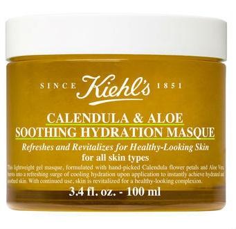 Успокаивающая и увлажняющая маска для лица c календулой и алоэ Kiehl's Calendula & aloe soothing hydration masque