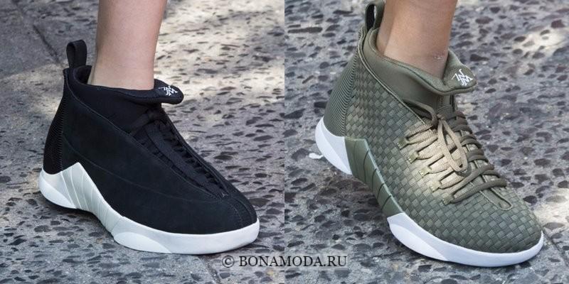 Модная женская обувь весна-лето 2018 - мягкие удобные кроссовки