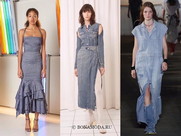 74338eede97 Модные длинные платья 2018 года фото-новинки и модные летние тренды ...