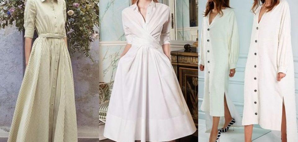 Модные платья весна-лето 2018: тенденции с подиума