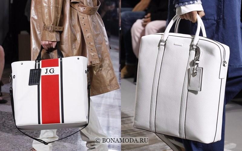 0b5b11646c7e Gucci, Marc Jacobs Модные женские сумки весна-лето 2018 - белые большие  вертикальные шоппер