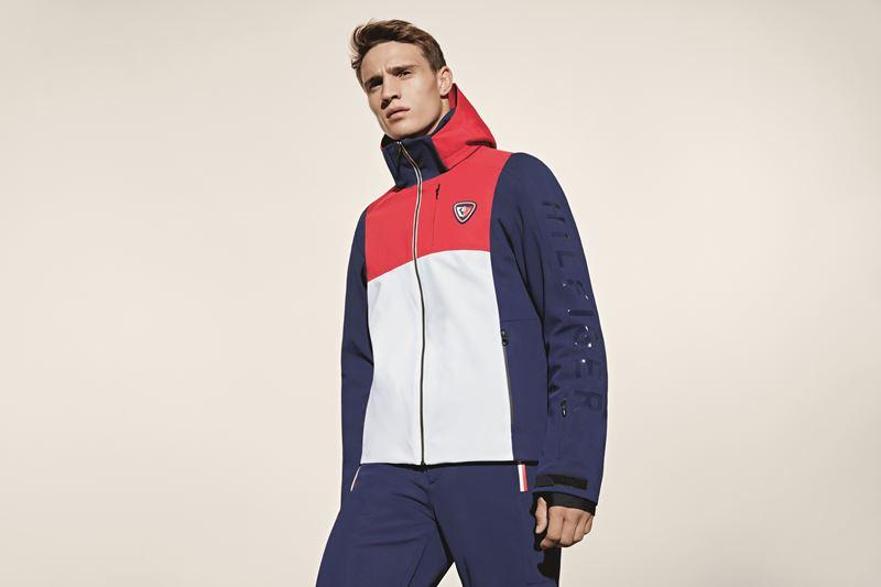 Мужская лыжная капсульная коллекция Tommy Hilfiger и Rossignol - куртка с капюшоном
