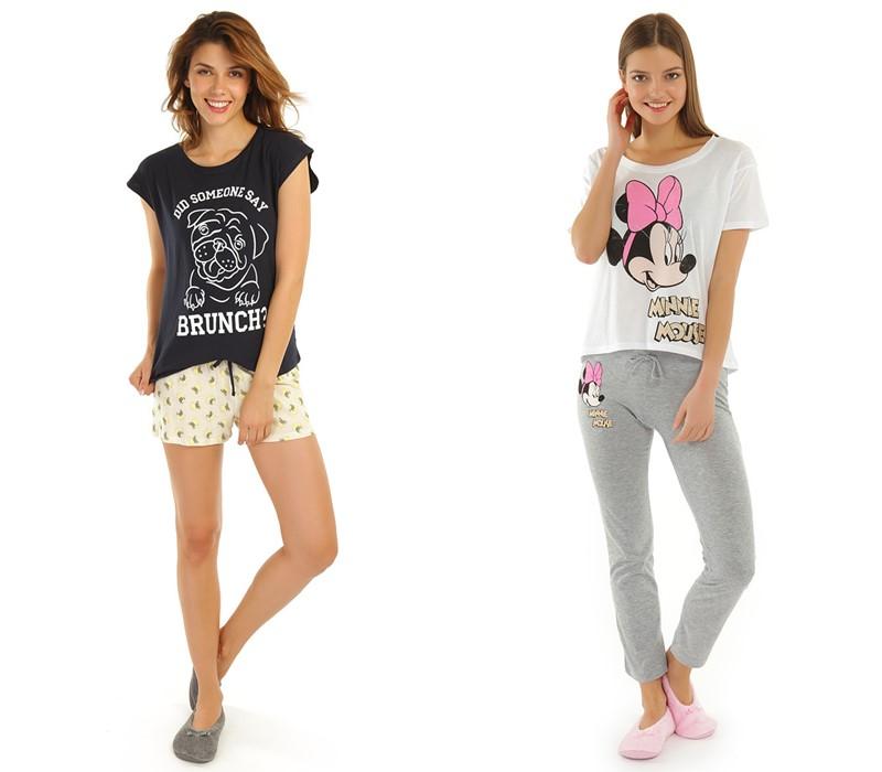 ТВОЕ коллекция домашней одежды - футболки с шортами и мягкими брюками