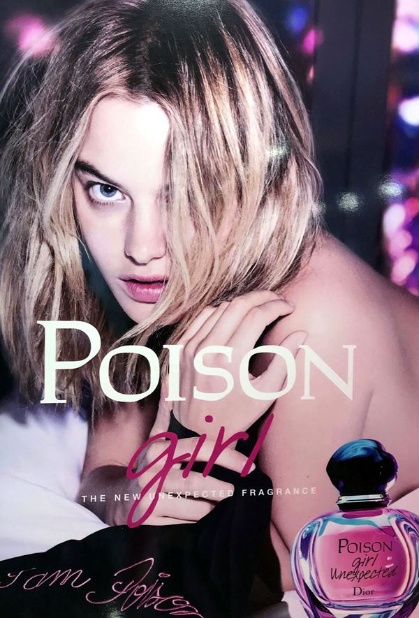Poison Girl Unexpected – новый аромат Dior 2018 - рекламный постер