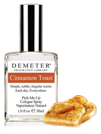 Ароматы с нотами корицы: Cinnamon Toast (Demeter): корица и пшеница