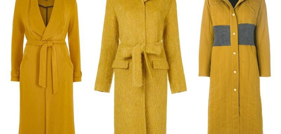 Дорого vs дёшево: 15 горчичных пальто