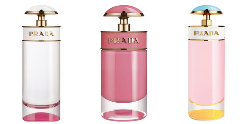 Ароматы Prada Candy - Kiss, Gloss, Sugar