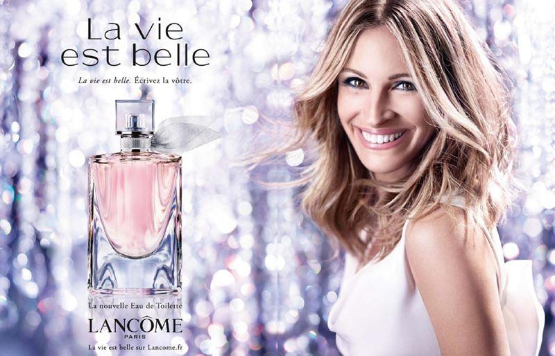 Реклама духов 2017: музыка и видео - Lancôme La Vie Est Belle с Джулией Робертс