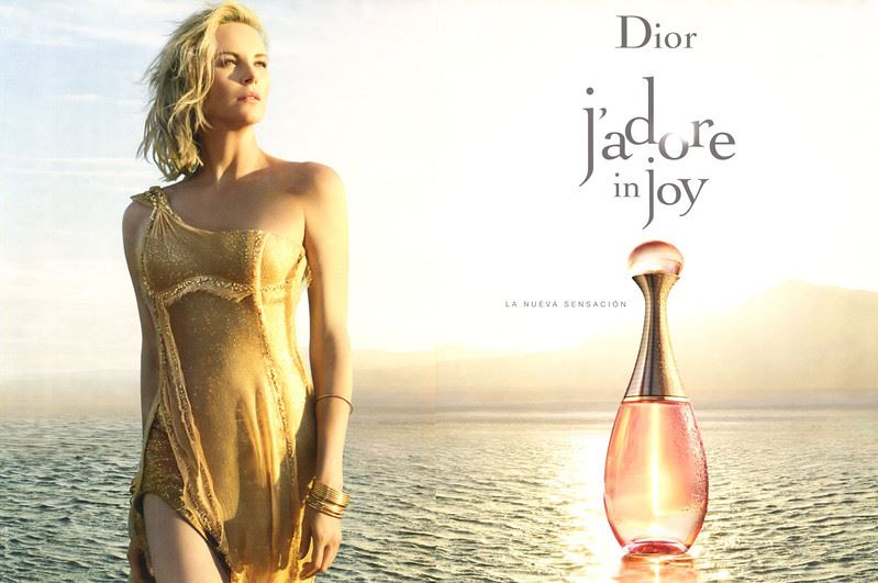 Реклама духов 2017: музыка и видео - Dior J'Adore In Joy с Шарлиз Терон