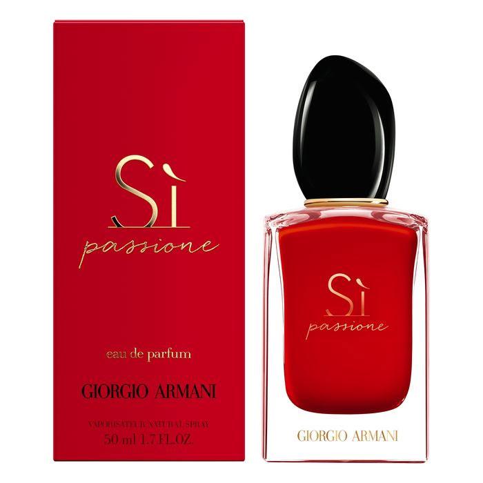 Si Passione Giorgio Armani - сладкий интенсивный аромат