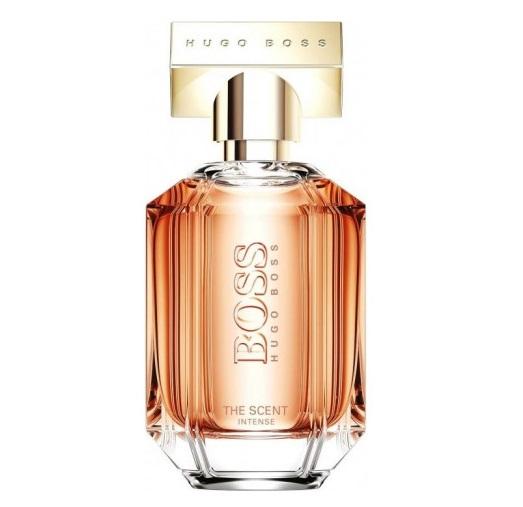 Сладкие тёплые восточные ароматы: Boss The Scent for Her Intense (Hugo Boss): персик, ваниль, какао
