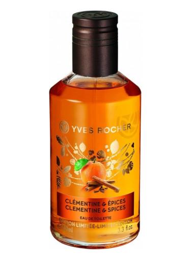 Сладкие тёплые восточные ароматы: Clémentine & Épices (Yves Rocher): мандарин и специи