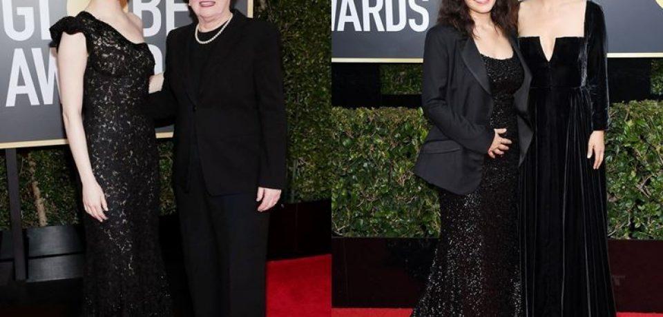 Чёрные вечерние платья-2018 на премии «Золотой глобус»