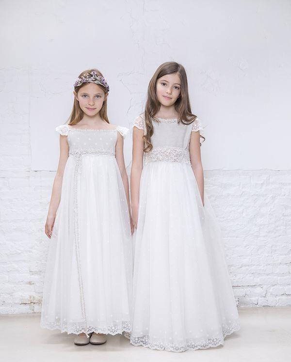 Детская мода для девочек весна-лето 2018 - Платья из тюля для маленькой принцессы