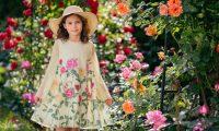 Детская мода для девочек весна-лето 2018