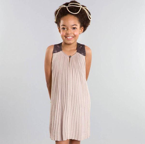 Детская мода для девочек весна-лето 2018 - плиссированные платья