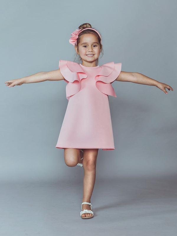 Детская мода для девочек весна-лето 2018 - летние платья и блузки с рукавом-бабочка